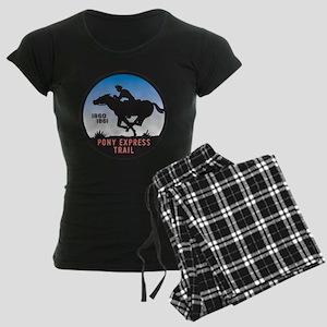 The Pony Express Women's Dark Pajamas