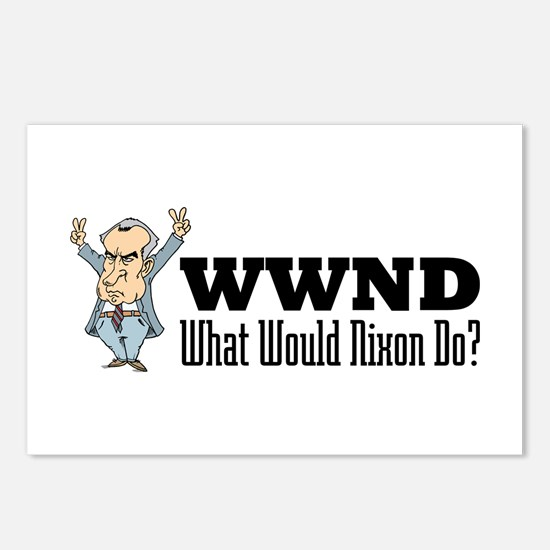What Would Nixon Do Postcards (Package of 8)