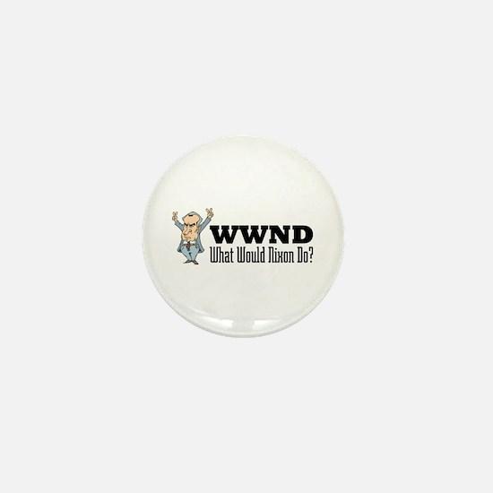 What Would Nixon Do Mini Button