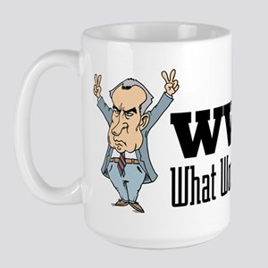 What Would Nixon Do Large Mug