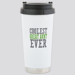 Coolest Great Aunt Stainless Steel Travel Mug