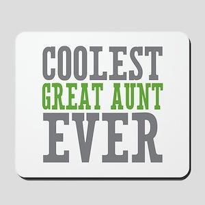 Coolest Great Aunt Mousepad