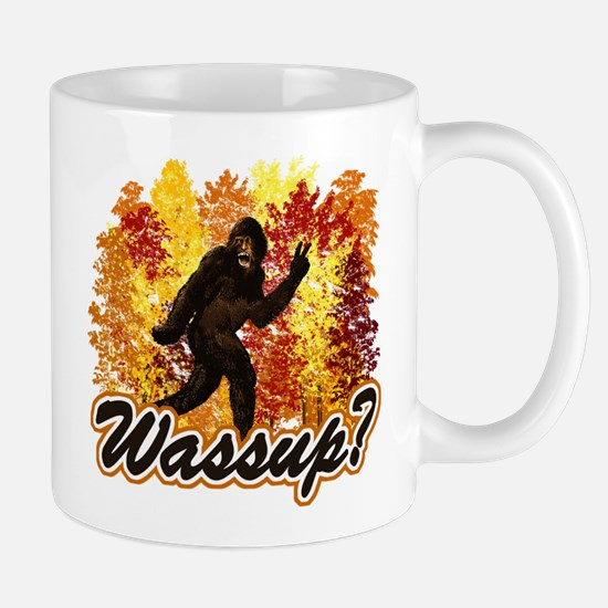 Whats Up Bigfoot Sasquatch Mug
