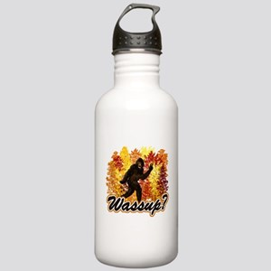 Whats Up Bigfoot Sasquatch Stainless Water Bottle