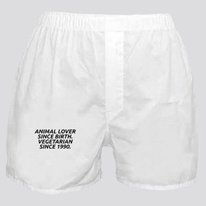 Vegetarian since 1990 Boxer Shorts