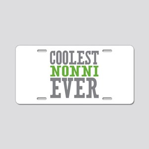 Coolest Nonni Aluminum License Plate