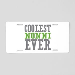 Coolest Nonni Aluminum License Plate