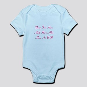 Customizable Personalized Text (Fu Infant Bodysuit