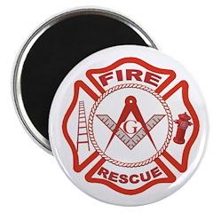 Masonic Fire & Rescue Magnet