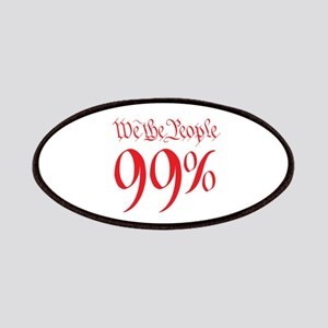 we the people 99% red Patches