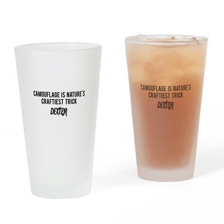 Camouflage Dexter Drinking Glass