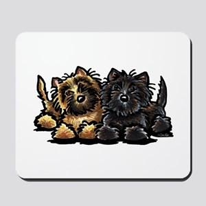 Cairn Terriers Mousepad