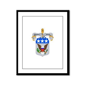DUI - Army War College Framed Panel Print