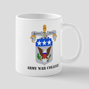 DUI - Army War College with Text Mug