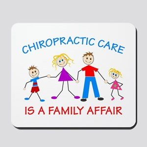 Chiro Family Affair Mousepad