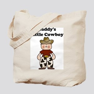 Daddy's Little Cowboy Tote Bag