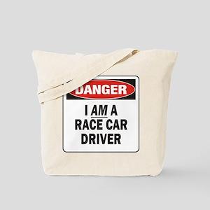 Race Driver Tote Bag