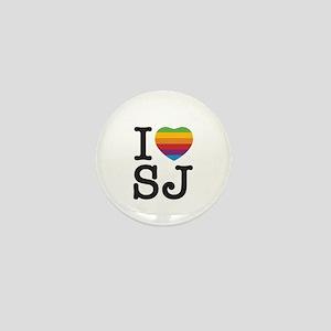 iHeart Steve Mini Button
