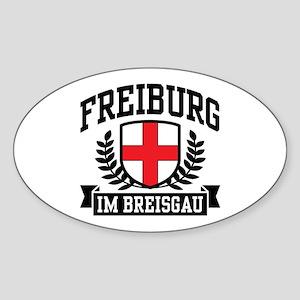 Freiburg Im Breisgau Sticker (Oval)