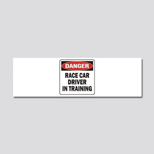 Race Driver Car Magnet 10 x 3