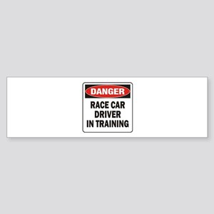 Race Driver Sticker (Bumper)