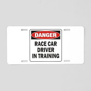 Race Driver Aluminum License Plate