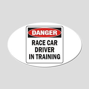 Race Driver 22x14 Oval Wall Peel