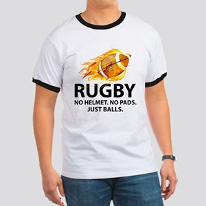 Rugby Just Balls Ringer T