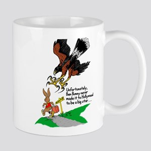 Harris Hawk and Bunny Mug