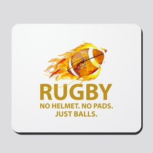 Rugby Just Balls Mousepad