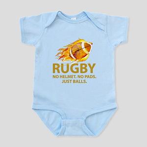 Rugby Just Balls Infant Bodysuit