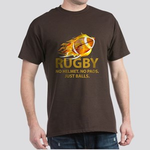 Rugby Just Balls Dark T-Shirt