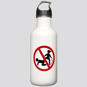 NO Dominatrix Sign Stainless Water Bottle 1.0L