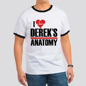 I Heart Derek's Anatomy Ringer T-Shirt