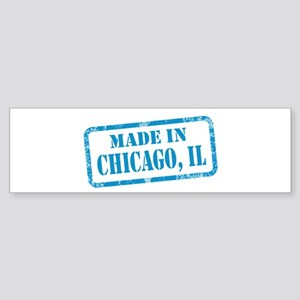 MADE IN CHICAGO, IL Sticker (Bumper)