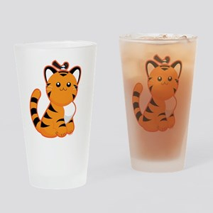 Tiger, Tiger Drinking Glass