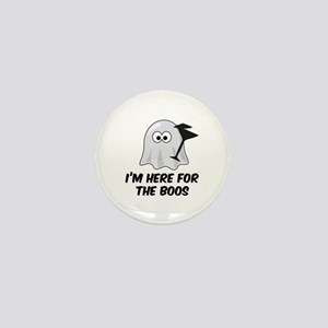 I'm here for the BOOS Mini Button