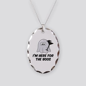 I'm here for the BOOS Necklace Oval Charm