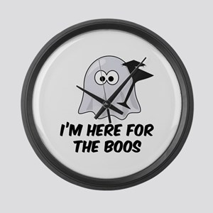 I'm here for the BOOS Large Wall Clock
