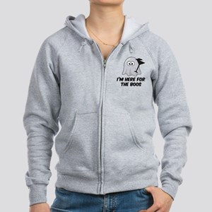 I'm here for the BOOS Women's Zip Hoodie