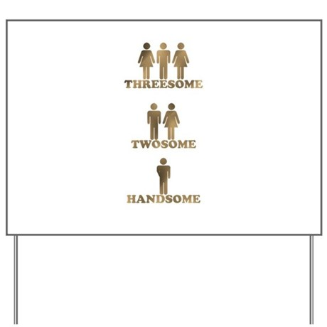 Threesome sign