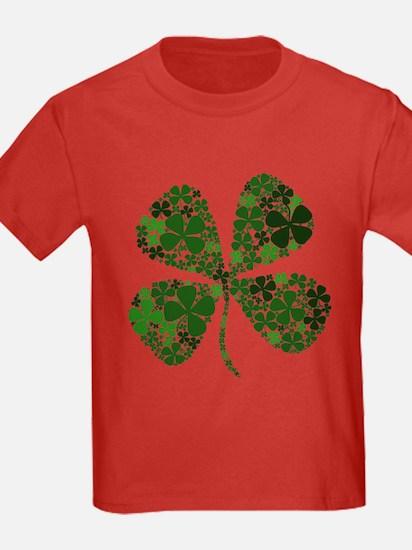 Lucky 4 Leaf Clover Irish T