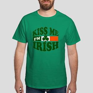 Kiss Me Im Irish Dark T-Shirt