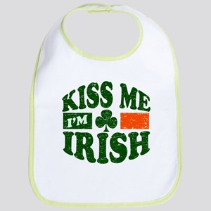 Kiss Me Im Irish Bib