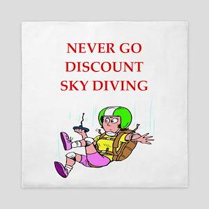 skydiving Queen Duvet