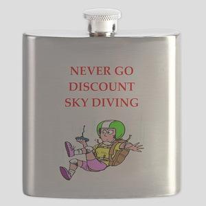 skydiving Flask