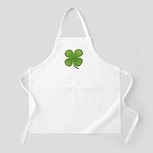 Lucky Irish Four Leaf Clover Apron