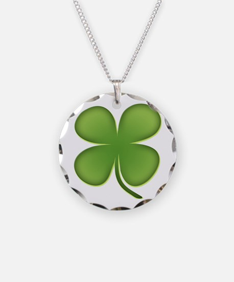 Lucky Irish Four Leaf Clover Necklace