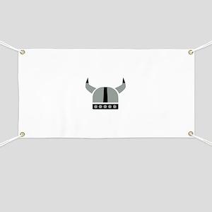 Viking helmet Banner