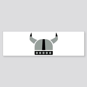 Viking helmet Sticker (Bumper)